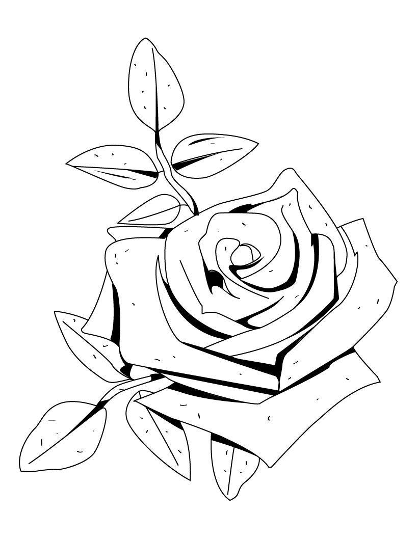 moldes de flores para colorear | mabel | Pinterest | Colorear, Molde ...