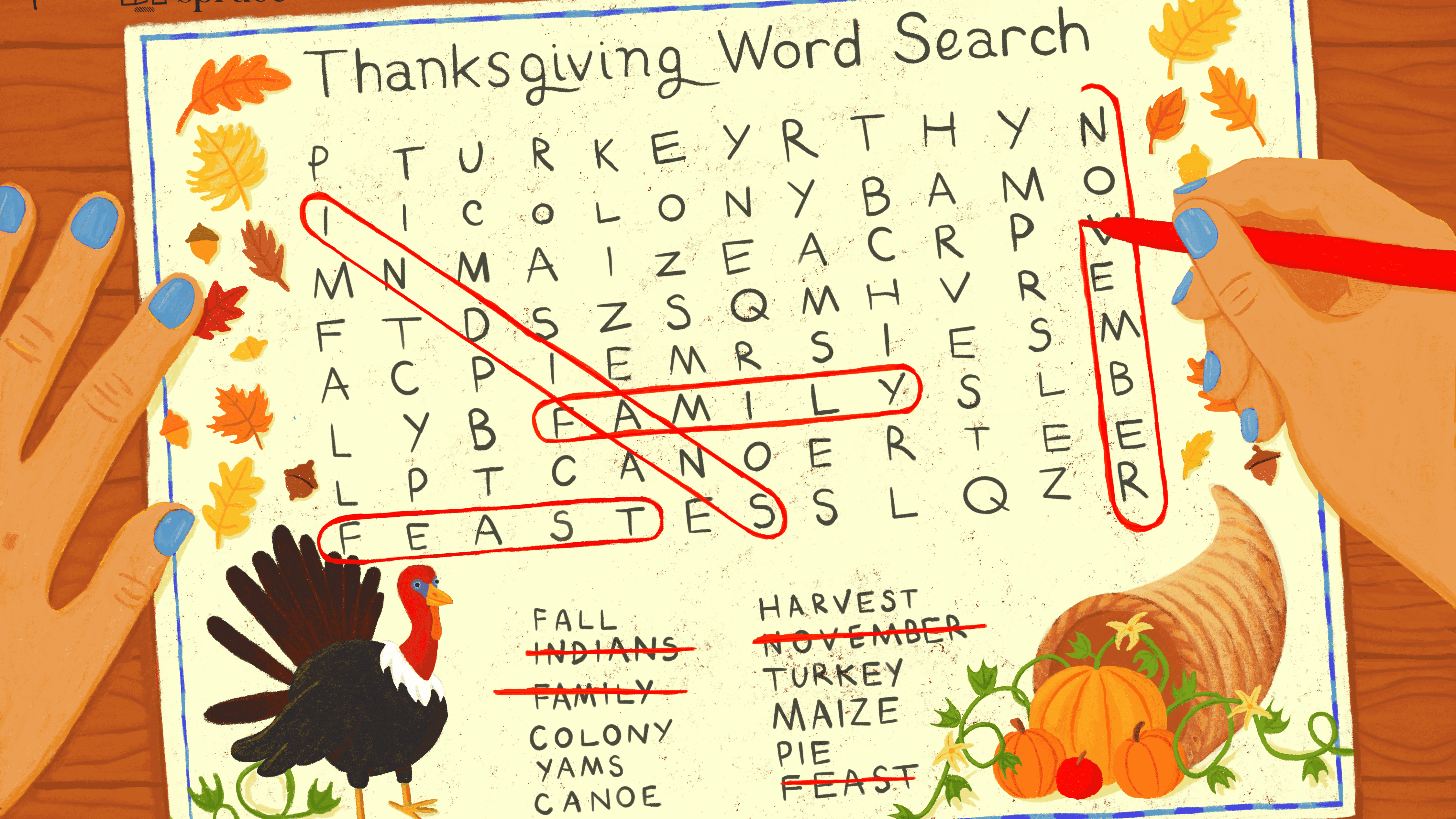 2 2nd Grade Fun Worksheets Free Printable 17 Free Thanksgiving Word Search  Puzzles for All…   Thanksgiving worksheets [ 2531 x 4500 Pixel ]