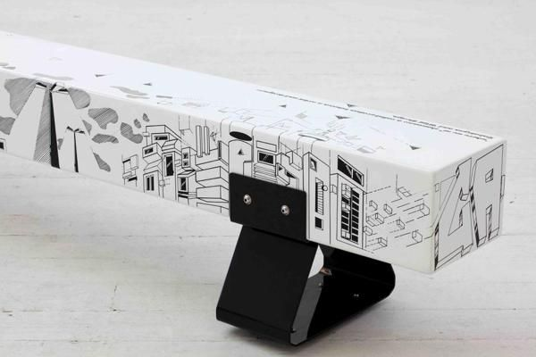 """""""where we at"""" graffiti bench with WIID DESIGNS on Furniture Served"""