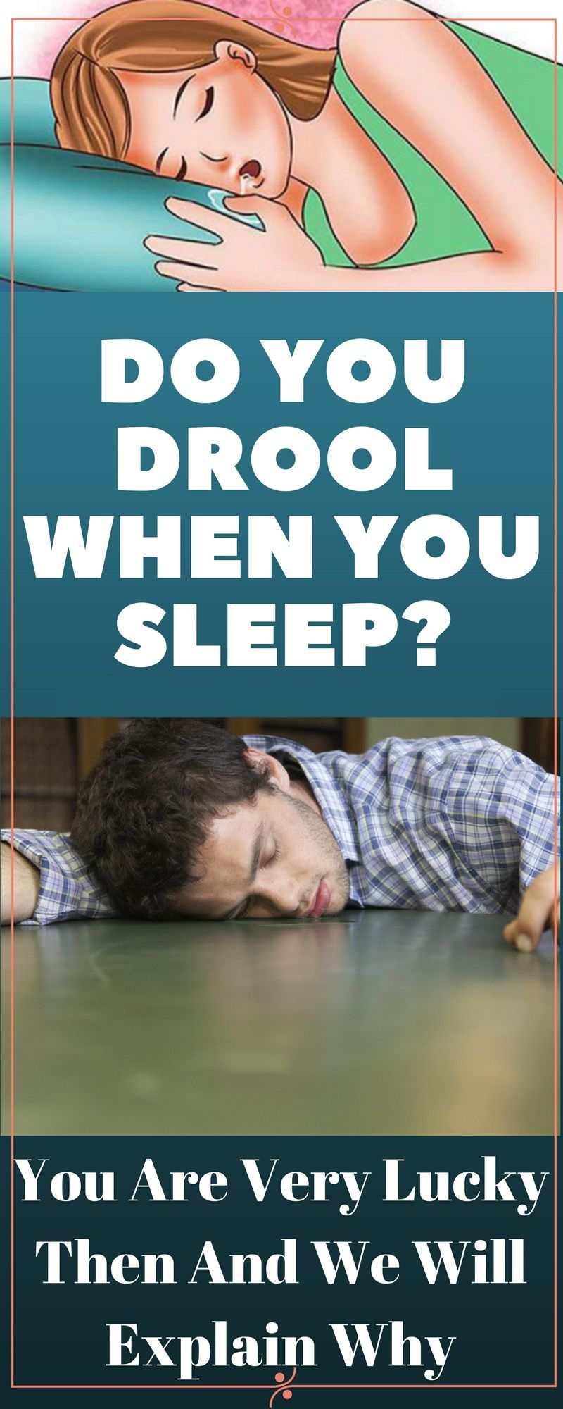 what does it mean when you drool while you sleep