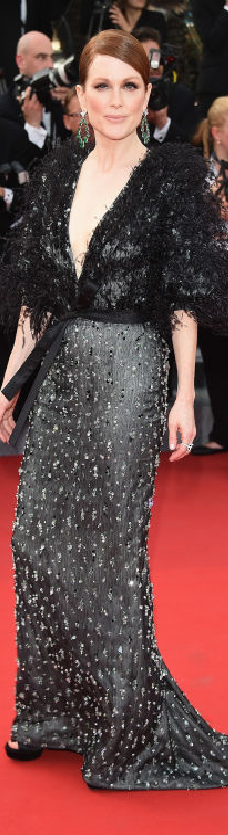 Julianne Moore in Armani Privé at the 2015 Cannes Film Festival