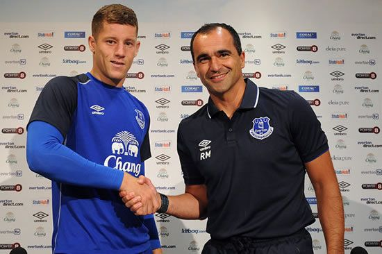 Hands off our Ross! Everton tie Barkley down to a new deal to fend off interest