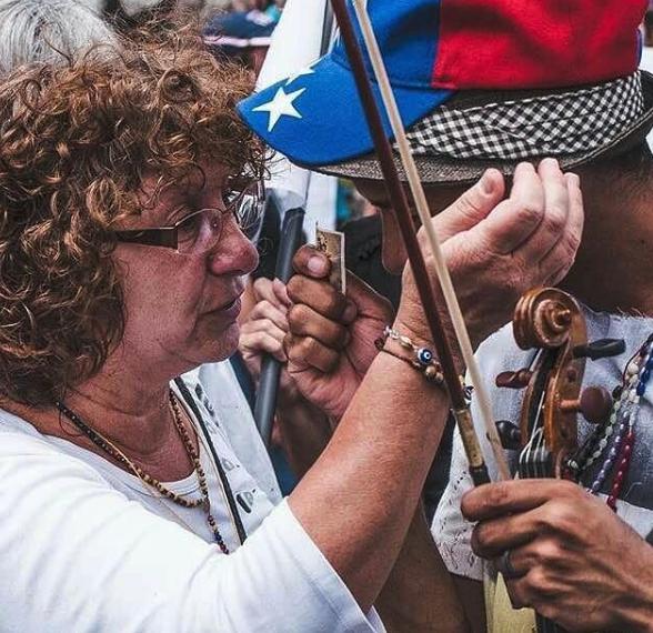 protestas y arte en venezuela