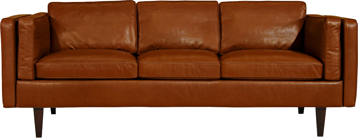 Sofa PNG image | Contemporary leather sofa, Modern leather ...