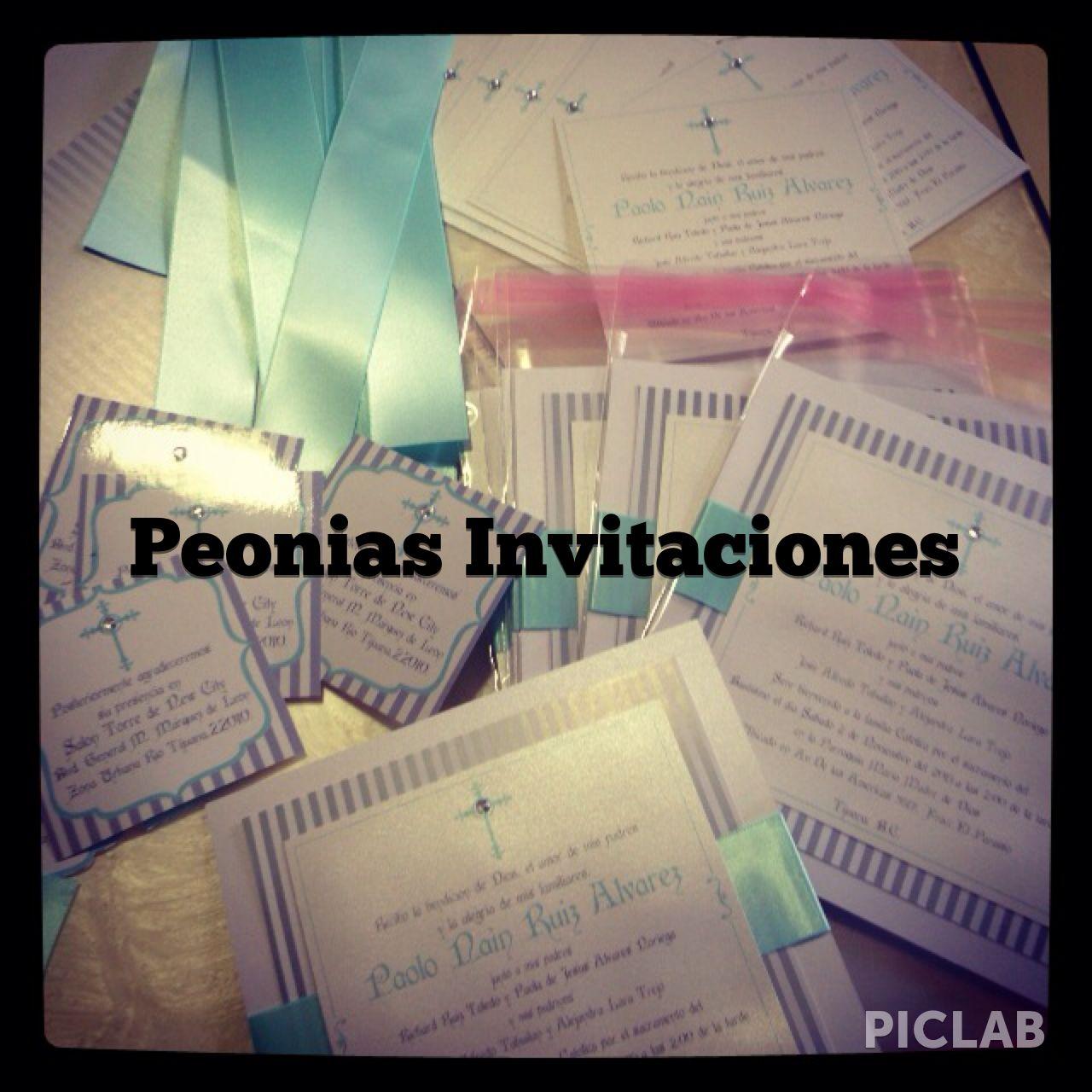#PeoniasInvitaciones