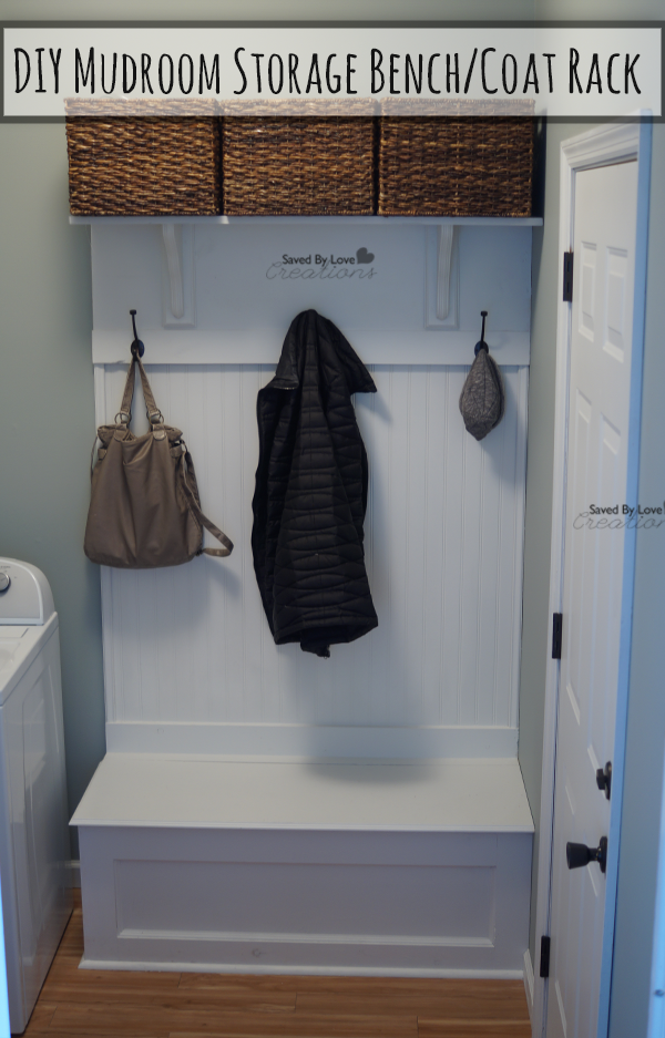 Diy Mudroom Storage Bench Free Woodworking Plans