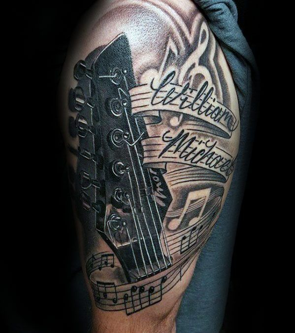 Tattoo Ideas Related To Music: Image Result For Instruments Tattoo