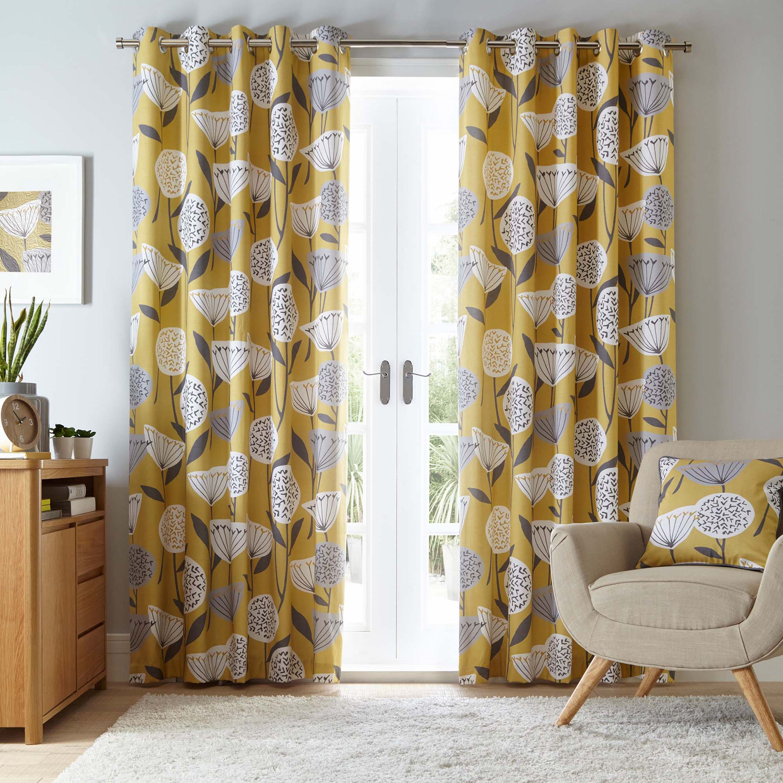 15 Fresh Living Room Curtain Design Ideas Real Homes Ye
