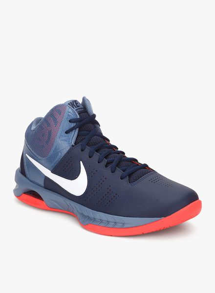 fb7ce1088bd4 Nike Air Visi Pro Vi Navy Blue Basketball Shoes for Men. Such beauty ...