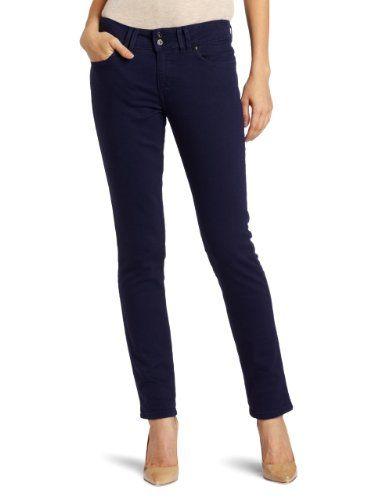 ef49cf00f692f Amazon.com: Levi's Women's Petite Mid Rise Styled Skinny Jean ...