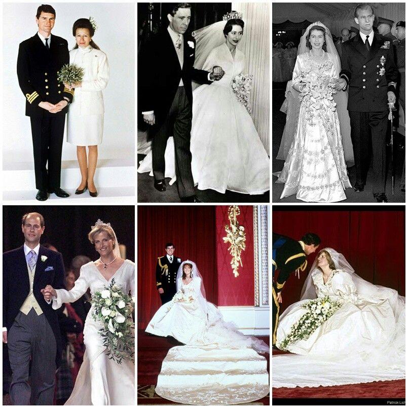 British Royal Family Weddings