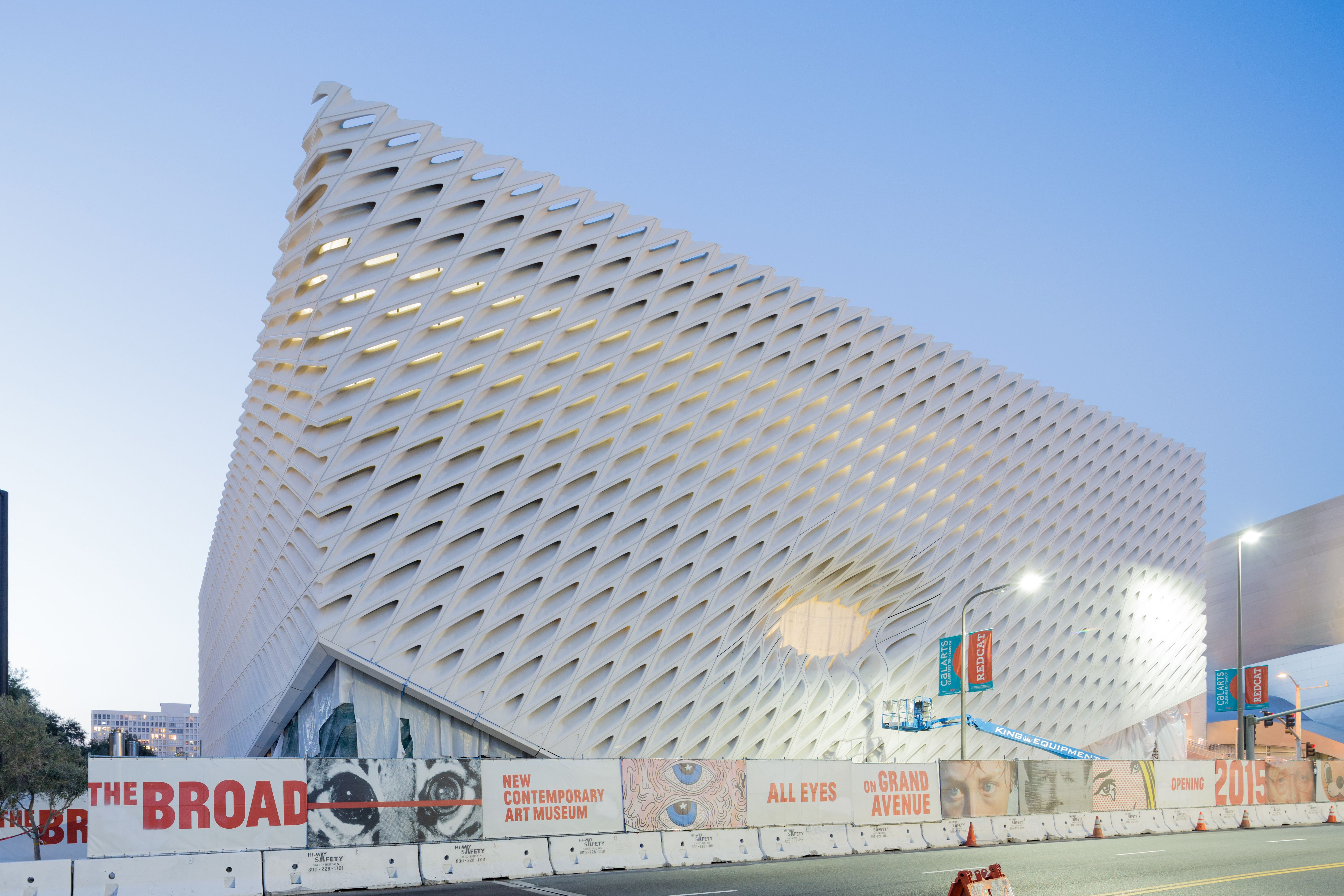 This New Building Will Change The Face Of Downtown L A The Broad Museum Los Angeles Museum New Museum