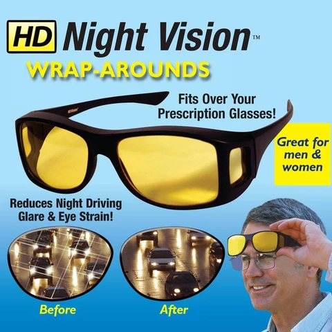 HD Night Vision Glasses for Driving