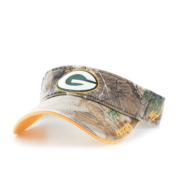 Green Bay Packers Realtree Ice Visor Realtree 47 Brand Adjustable Hat Detroit Game Gear Green Bay Packers Hat 47 Brand Adjustable Hat