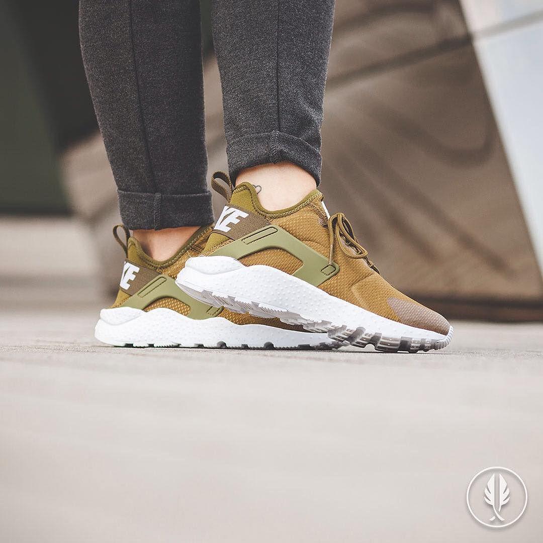 Grün | Nike Air Huarache Run Ultra Olive Flak Air