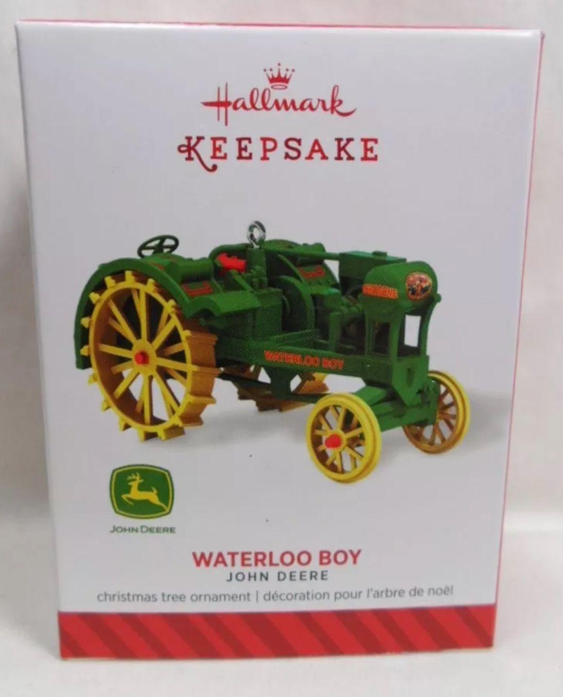 John Deere Waterloo Boy Tractor Hallmark Keepsake Christmas tree ...