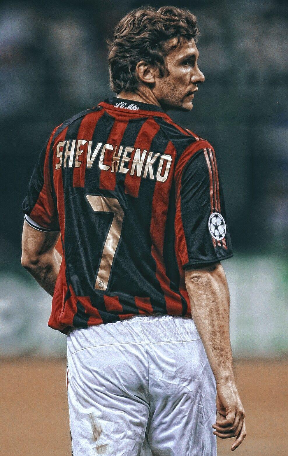 A.C. Milan: Shevchenko #football #milan #legend