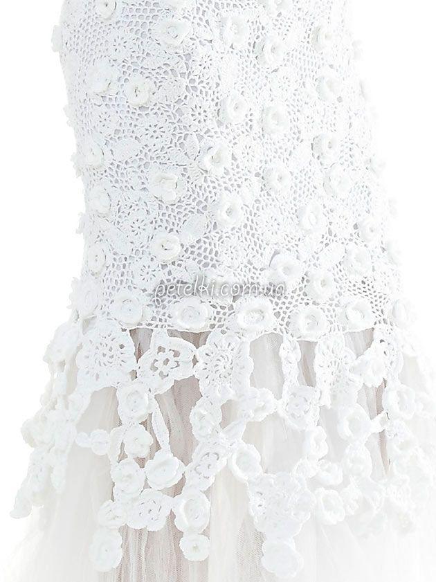 CARMEN CROCHE | vestido novia | Pinterest | Novios y Vestiditos