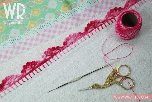 Wr Artes Blog Do Wagner Reis Grafico Bico De Croche Para