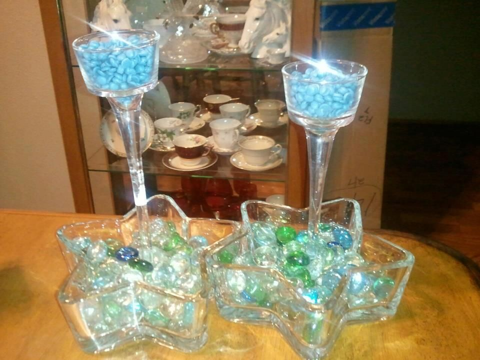 Use Sprinkles to create your centerpieces on the tables. Both beautiful to look at and to smell. www.sprinkledpz.com