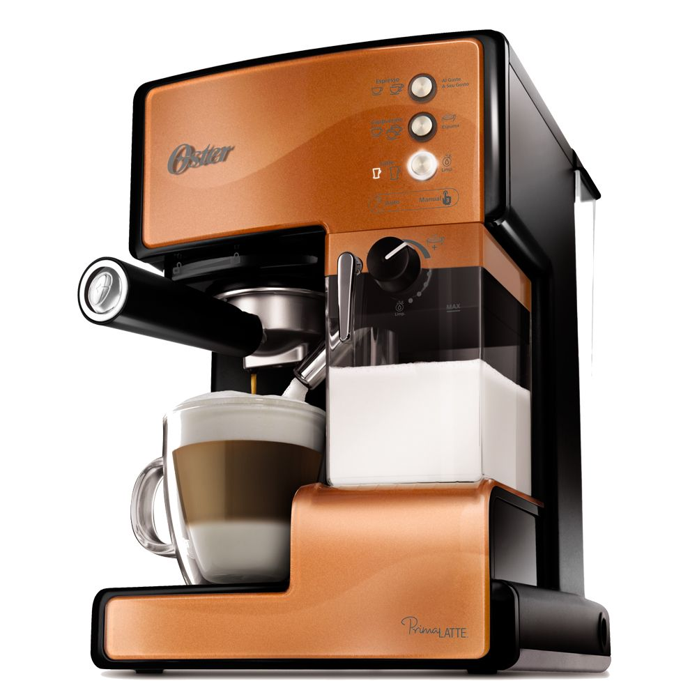 Cafetera Prima Latte Cobre 6601c Oster Cafeteras Caf Espresso