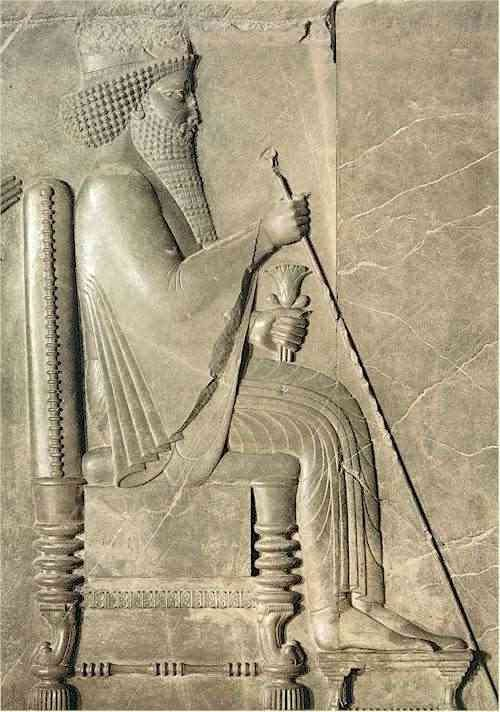 Xerxes Relief From Persepolis Palace Xerxes Is The Biblical Ahasuerus Ezra 4 6 Ancient Persian Ancient Mesopotamia Mesopotamia