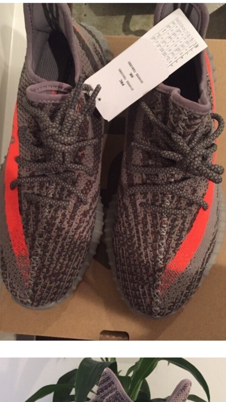 Details about Adidas Yeezy Boost 350 V2 Men 's Size 11 Beluga BB 1826