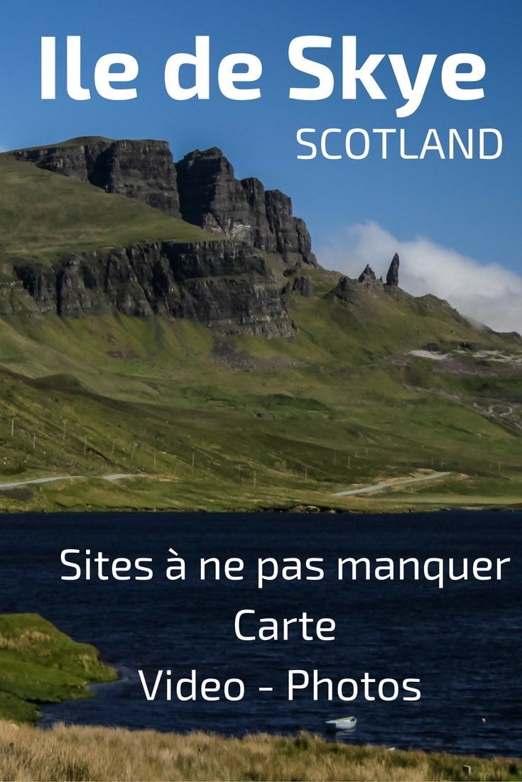 visiter l ile de skye ecosse carte photos lieux d 39 int r t conseils voyages pinterest. Black Bedroom Furniture Sets. Home Design Ideas