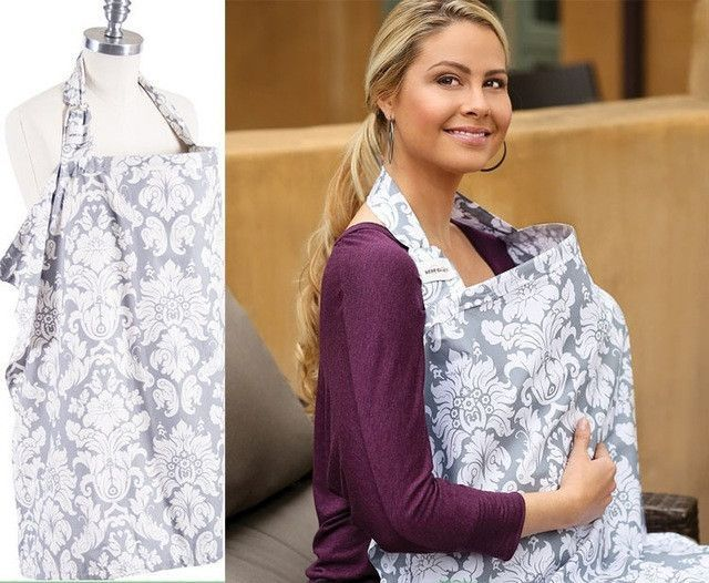 Breathable breastfeeding cover 100cotton muslin Mother feeding - nursing cover