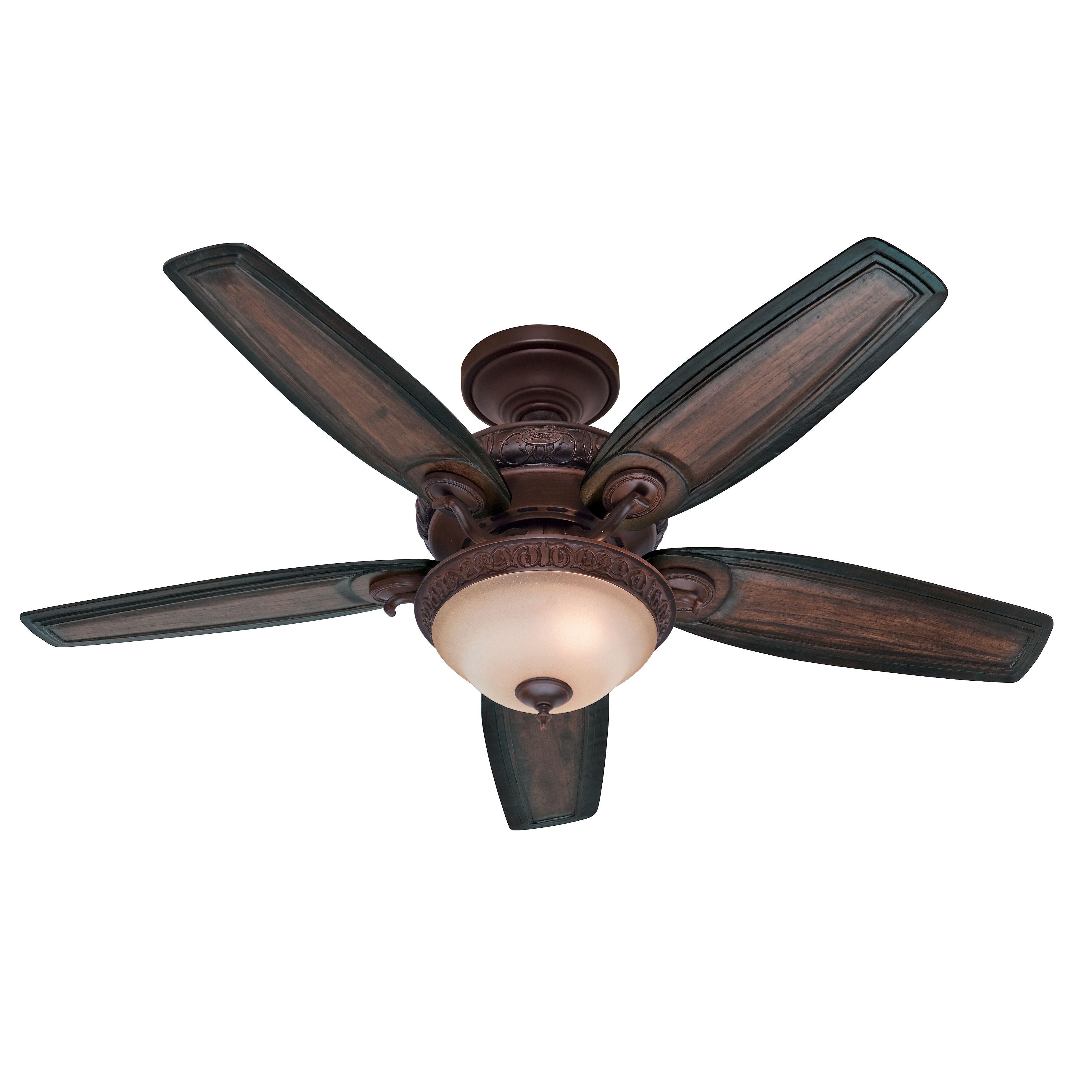 54 Ceiling Fan Ceiling Fan With Light Hunter Ceiling Fans