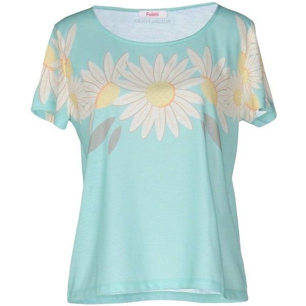 8ee74dbbf3a4 Blugirl Folies T-shirt (53 BAM) ❤ liked on Polyvore featuring tops ...