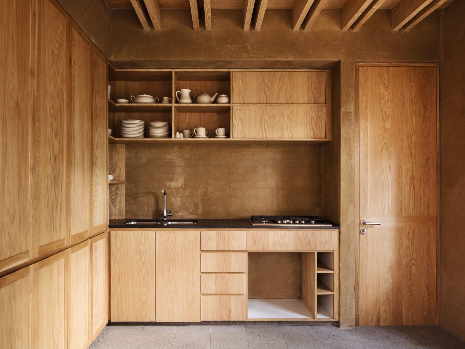Pin De Cati Rotger En Cocinas Modernas Pinterest Pino Taller  # Muebles Saez Las Tablas