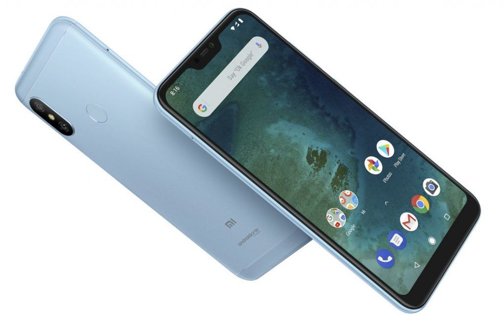 Xiaomi Launches The Mi A2 And Mi A2 Lite Android One Smartphones In Spain Android One Smartphone Xiaomi