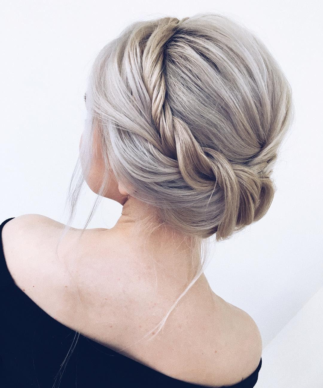 Romantic wedding hairstyles to inspire you updo high bun