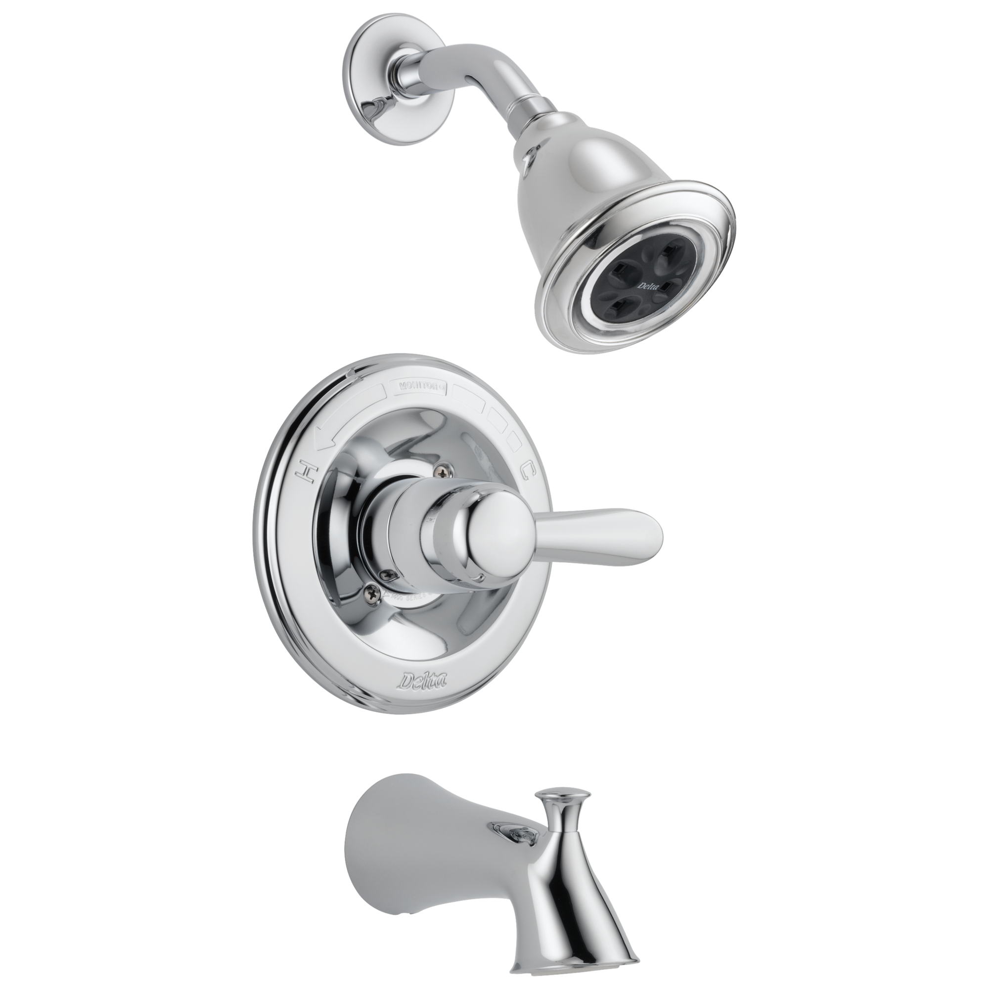 Delta Faucet T14438 H2o Monitor 14 Series H2okinetic Tub Shower