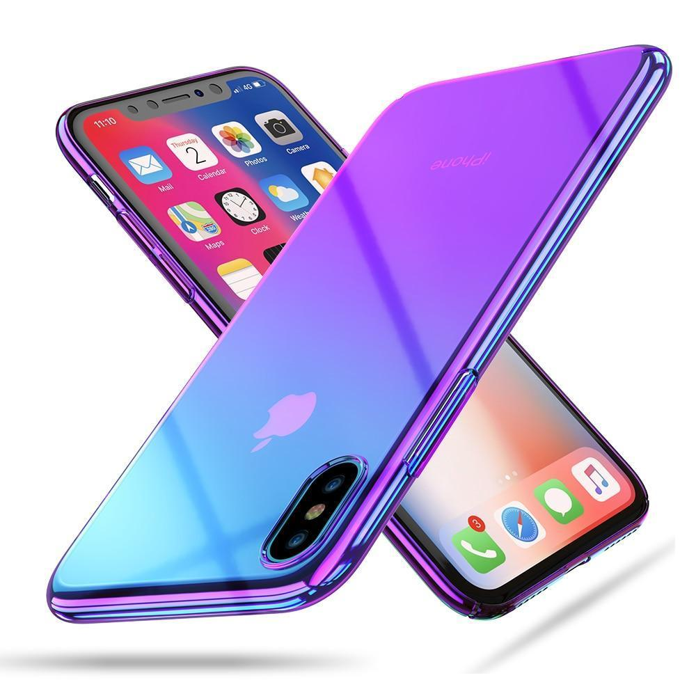 Iphone X Xs Max Case Plating Plastic Capa For Apple Iphone X 10 Case For Samsung S9 Cover For Iphone Xr Xs Plus Couqe Iphone Coque Iphone Seychelles