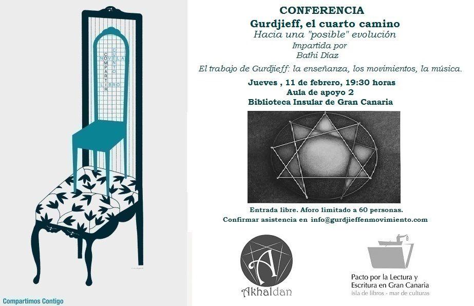 Conferencia Gurdjieff, el cuarto milenio.   CARTELES ...