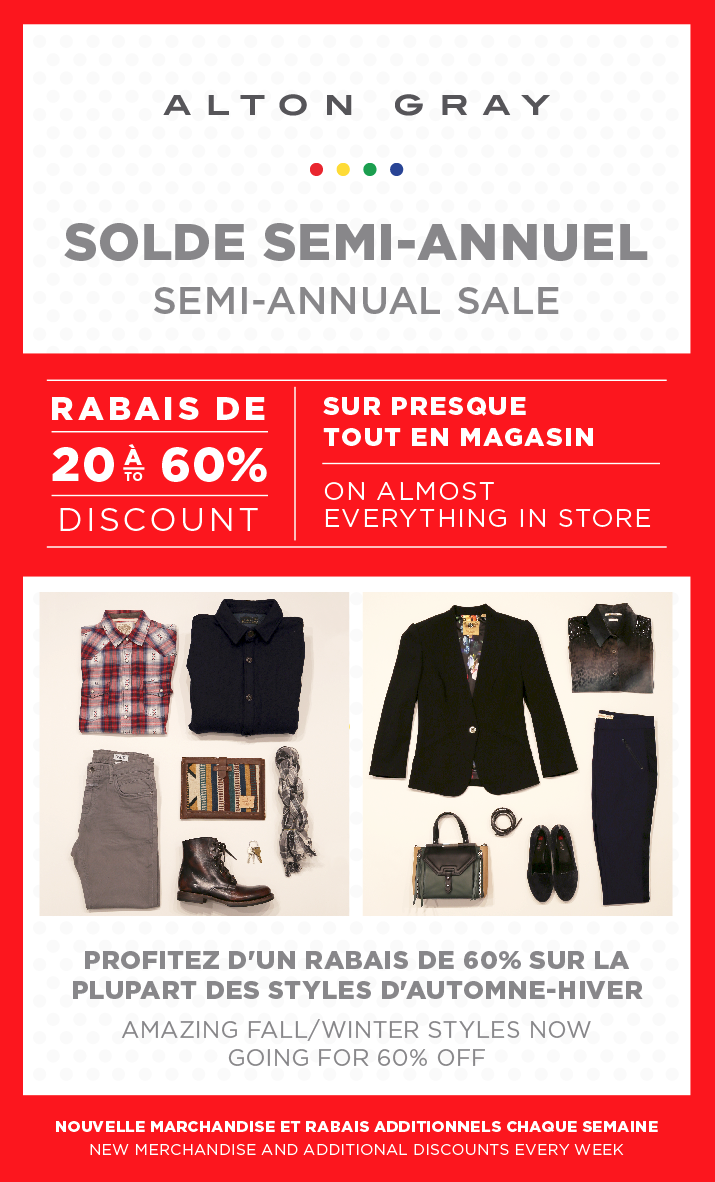 Store A Rabais Fall Winter Styles Now At 60 Alton Gray Solde Sur Les Collections
