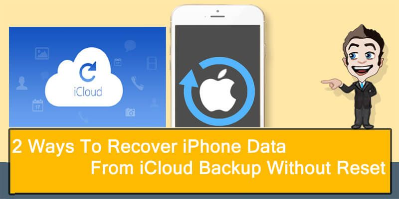 How Can I Restore Iphone Data From An Icloud Backup Data