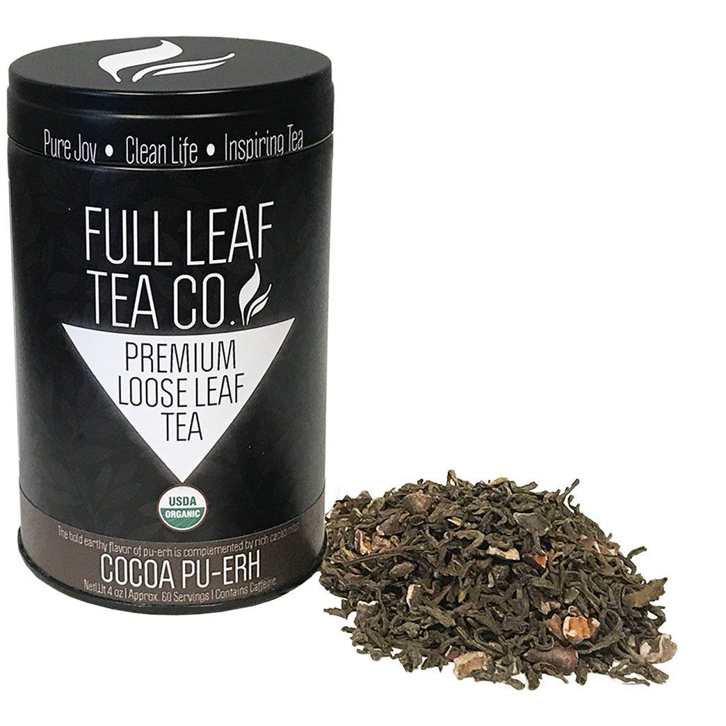 Ginger Puerh Tea - Green Leaf & Pebble