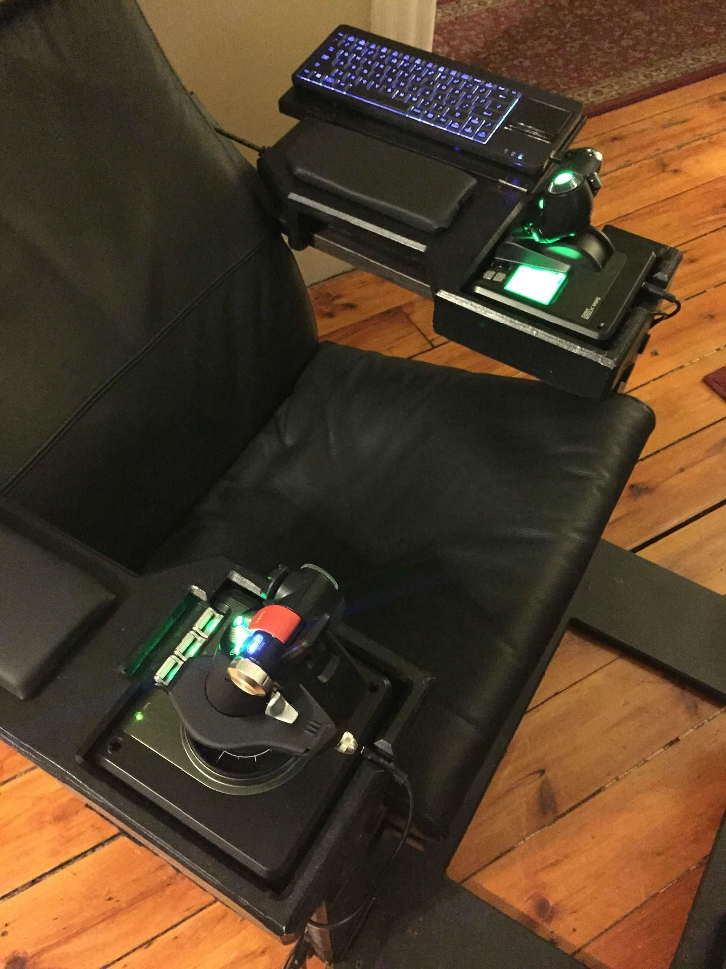 Elite Dangerous Ikea Poang Chair Simpit Add On Ikea Poang Chair Cockpit Flight Simulator Cockpit
