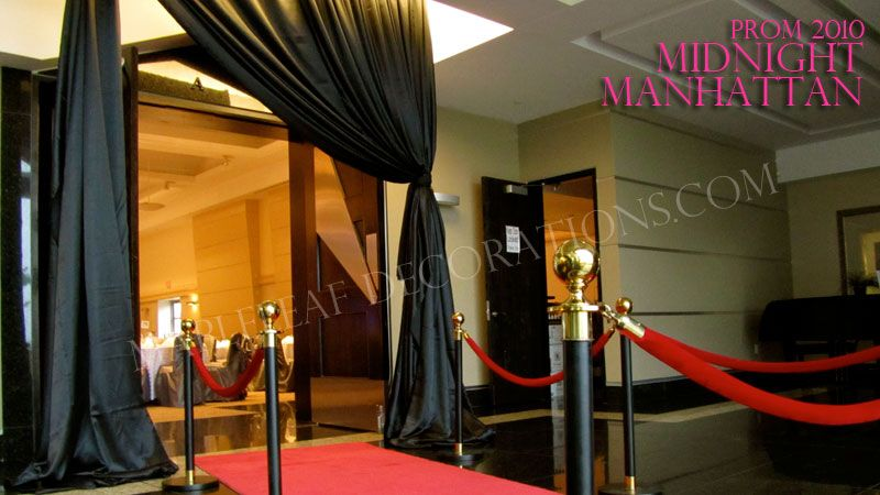 Entrance To Event Mapleleaf Decorations Corporate