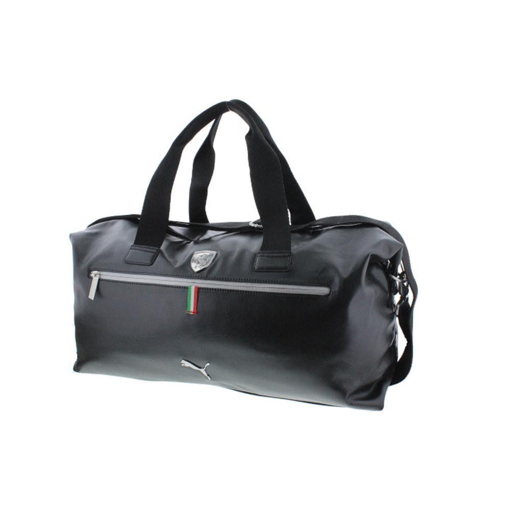 Puma Ferrari Faux Leather Weekender Bag