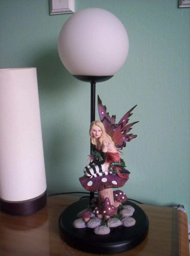 Gothic Fairy Lamp
