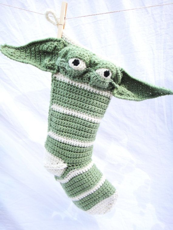 Star Wars Crochet Christmas Stockings-- Set of 4 | Pinterest