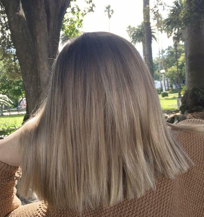 Glossy Beige Blonde Beige Hair Hair Styles Light Hair
