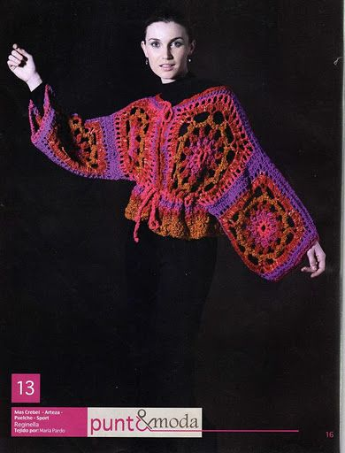 Wearable ART. Different & Funky pullover - I like. /;)