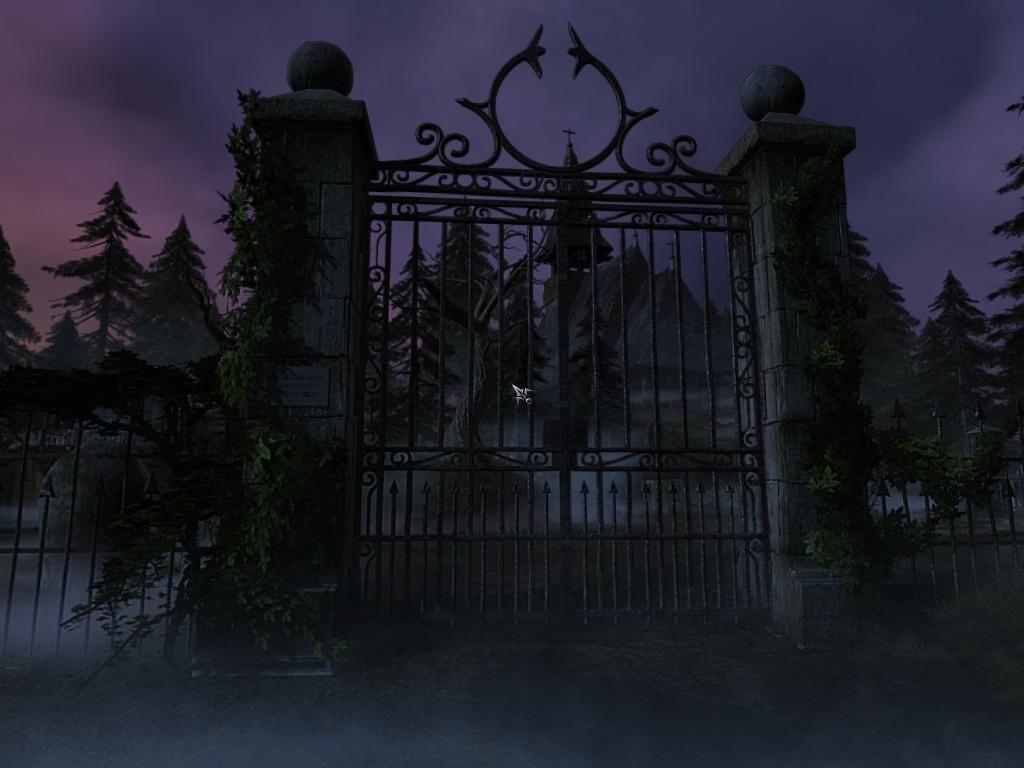 Cemetery Gates Haunting Yet Beautiful Gates Haunted
