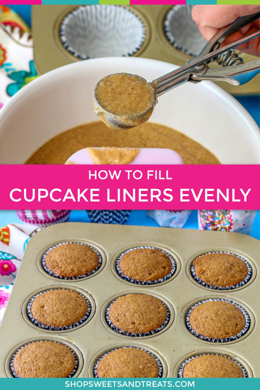 How To Fill Cupcake Liners Evenly For Perfect Cupcakes Filled
