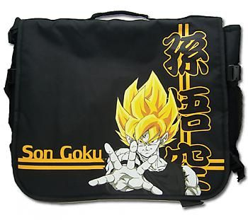 dragon ball z messenger bag super saiyan goku gold